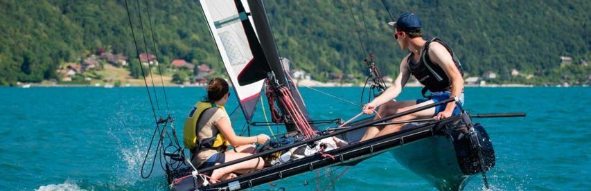 activités nautiques lac annaecy