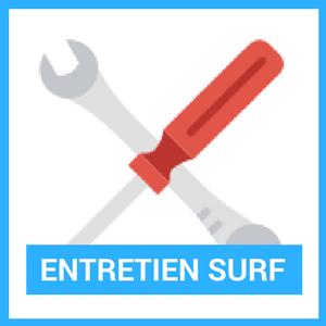 entretien planche de surf