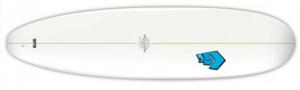 SUPERFROG 7'4 MINI NOSE RIDER - planche débutant stylées