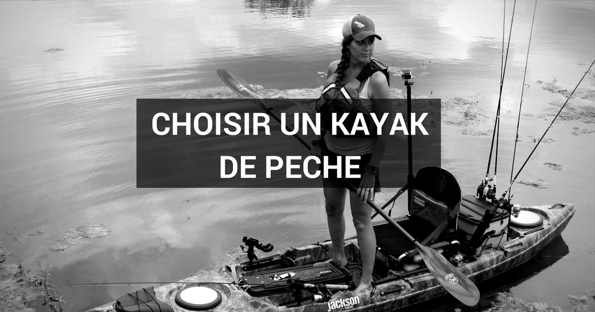Choisir son kayak pour la pêche