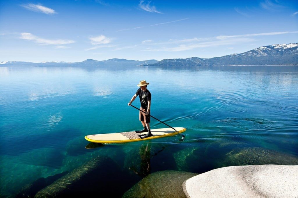 paddle et sup gonflable