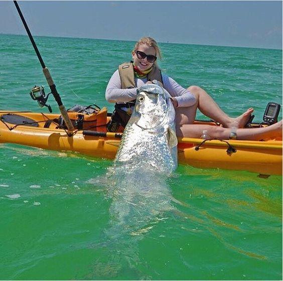 pêche poisson en kayak