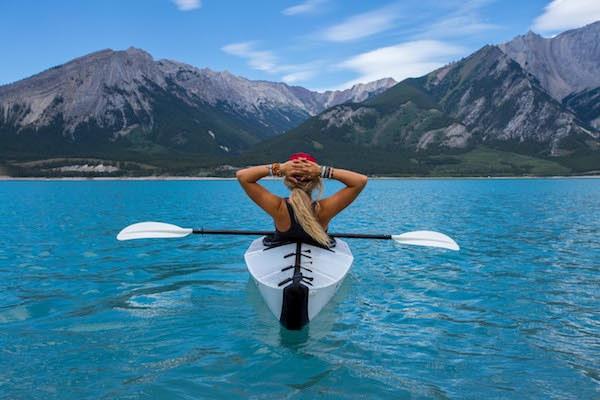 sortie en kayak solo