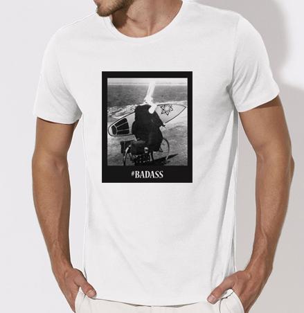 tshirt breton : bigouden surf
