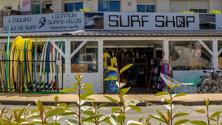 école de surf esquiro gascogne