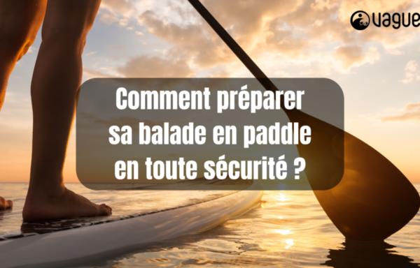 Balade paddle en sécurité