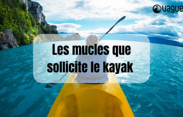 Les muscles que sollicite le kayak